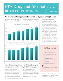drug and alcohol newsletter